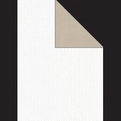 Papír A4, 300 g - hnědý puntík oboustranný