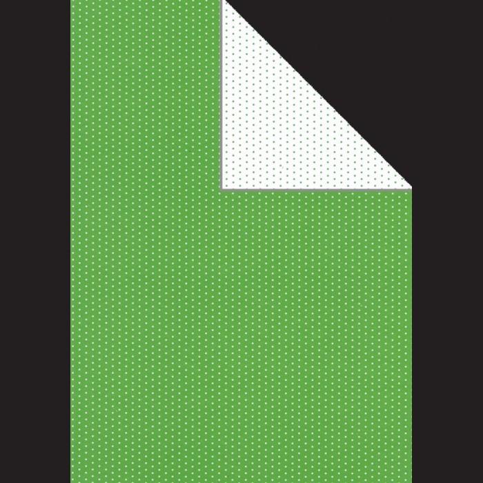 Papír A4, 300 g - zelený puntík oboustranný
