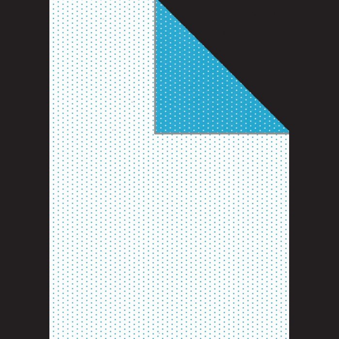Papír A4, 300 g - modrý puntík oboustranný