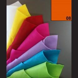 Filc A4 - oranžový