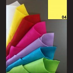 Filc A4 - citronový