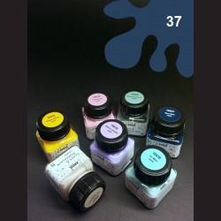 Barva na porcelán Chalky - tm. modrá, 20 ml