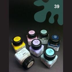 Barva na porcelán Chalky - tm. zelená, 20 ml