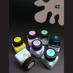Barva na porcelán Chalky - hnědá, 20 ml
