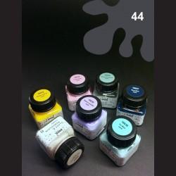 Barva na porcelán Chalky - černá, 20 ml