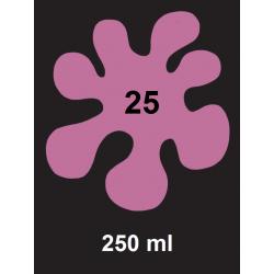 Barva na tm. textil - růžová, 250 ml