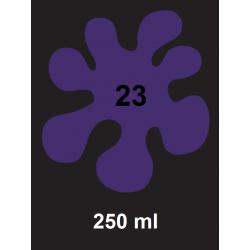 Barva na tm. textil - fialová, 250 ml