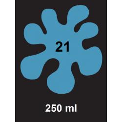 Barva na tm. textil - sv. modrá, 250 ml