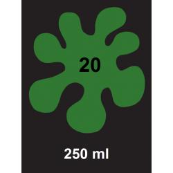 Barva na tm. textil - zelená, 250 ml