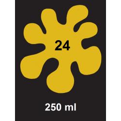 Barva na tm. textil - žlutá, 250 ml