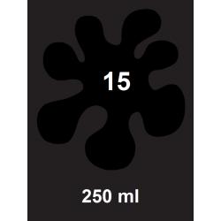 Barva na tm. textil - černá, 250 ml
