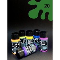 Barva na textil Textile Color - zelená, 50 ml