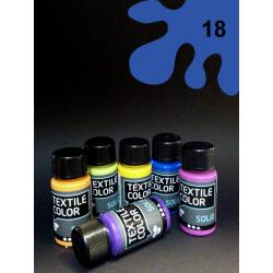 Barva na textil Textile Color - modrá 50 ml