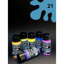 Barva na tm. textil - světle modrá, 50 ml