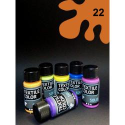 Barva na textil Textile Color - oranžová, 50 ml