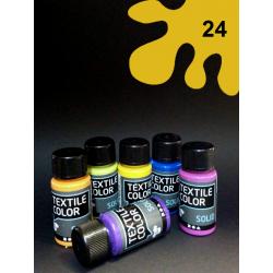 Barva na tm. textil - žlutá, 50 ml