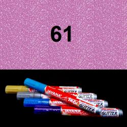 Fix na textil glitrový růžový, 2 mm