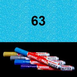 Fix na textil glitrový sv. modrý, 2 mm