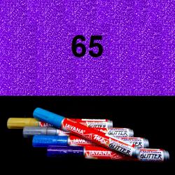 Fix na textil glitrový fialový, 2 mm