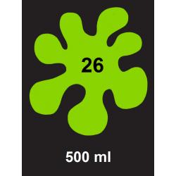 Barva na textil Textile Art Neon - zelená, 500 ml