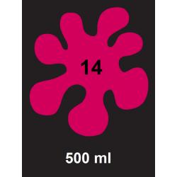 Barva na textil Textile Art Neon - růžová, 500 ml