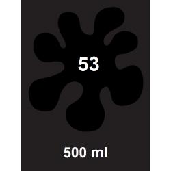 Barva na textil - černá, 500 ml
