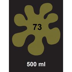 Barva na textil - olivová, 500 ml