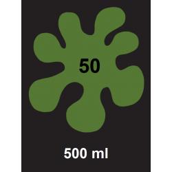 Barva na textil - tm. zelená, 500 ml