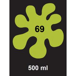 Barva na textil - kiwi zelená, 500 ml