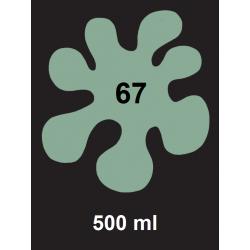 Barva na textil - mintová, 500 ml