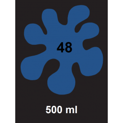 Barva na textil - tm. modrá, 500 ml