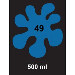 Barva na textil - modrá, 500 ml