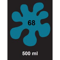 Barva na textil - tyrkysová, 500 ml