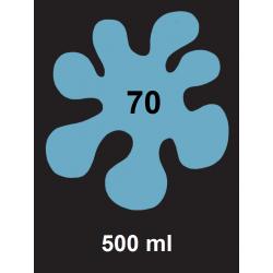 Barva na textil - sv. modrá, 500 ml