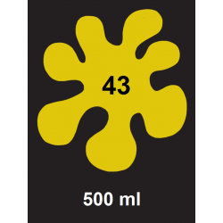 Barva na sv. textil - tm. žlutá, 500 ml