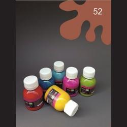Barva na textil - hnědá, 65 ml