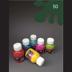 Barva na sv.  textil - olivová, 65 ml