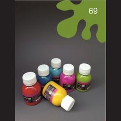 Barva na textil - světle zelená, 65 ml