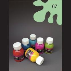 Barva na textil - mintová, 65 ml