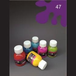 Barva na sv. textil - fialová, 65 ml