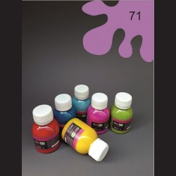 Barva na textil - levandulová, 65 ml