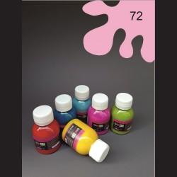 Barva na sv. textil - světle růžová, 65 ml