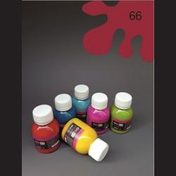 Barva na textil - bordó, 65 ml