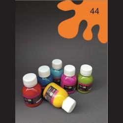 Barva na textil - oranžová, 65 ml