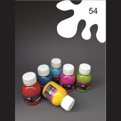 Barva na textil - bílá, 65 ml