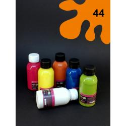 Barva na textil - oranžová, 110 ml