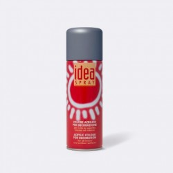 Akrylový sprej Idea Spray, 200 ml - tm. šedý