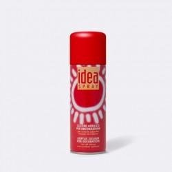 Akrylový sprej Idea Spray, 200 ml - červený