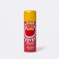 Akrylový sprej Idea Spray, 200 ml - tm. žlutý