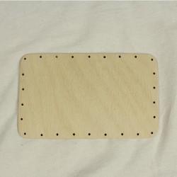 Dno na pletení - obdélník, 18x11 cm